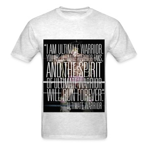 Ultimate Warrior Forever Tribute Shirt - Men's T-Shirt