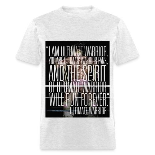 Ultimate Warrior Forever Tribute Shirt - Men's T-Shirt
