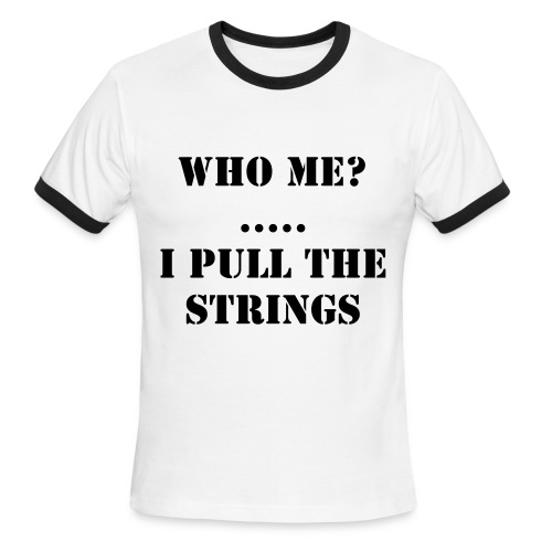 who are you tee - Men's Ringer T-Shirt