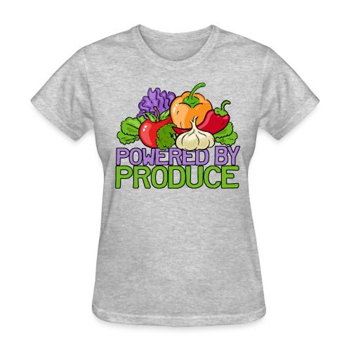 Powered by Produce T-Shirts - Women's T-Shirt