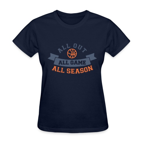 All Game All Season - Women's T-Shirt