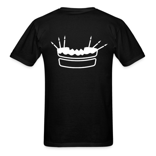 Safe Room Comic - Cake - Men's T-Shirt