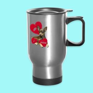 Miniature Pinscher Mother's Day  - Travel Mug