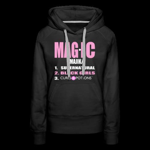 Magic Pullover Hoodie - Women's Premium Hoodie