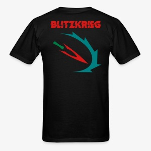 Bl!tzkr!eg Custom Shirt - Men's T-Shirt