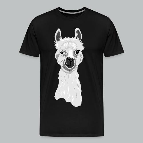 Alpaca - Men's - Men's Premium T-Shirt