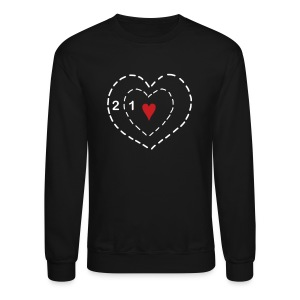 Two Sizes Crewneck - Crewneck Sweatshirt