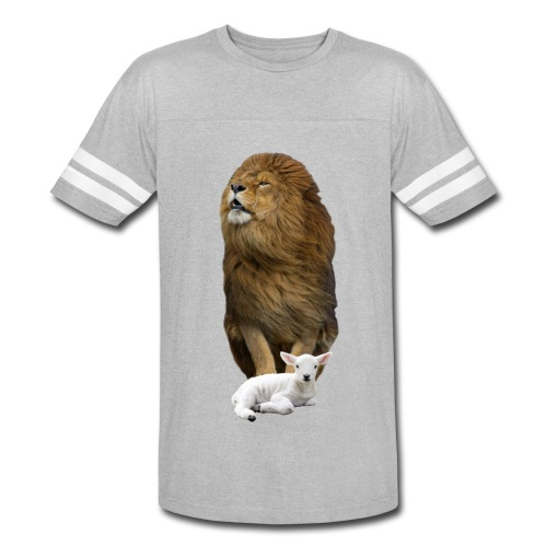 The Lion and the Lamb - Vintage Sport T-Shirt