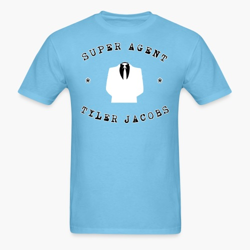 Super Agent Tyler Jacobs - Men's T-Shirt