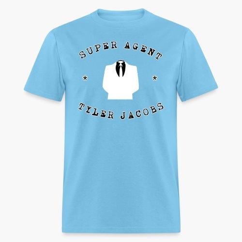Super Agent Tyler Jacobs - Men's T-Shirt