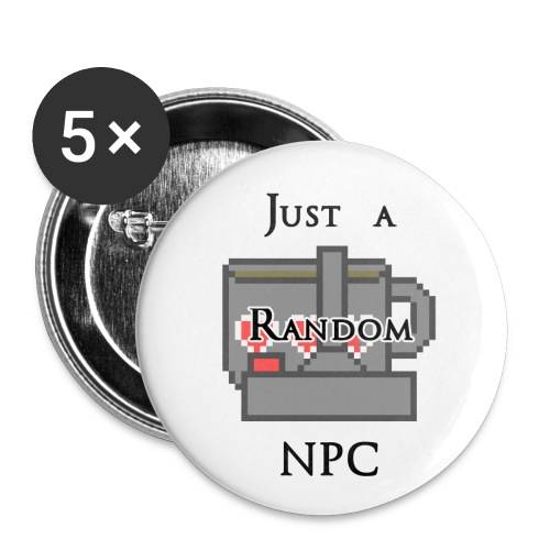 Just a Random  Pin - Small Buttons