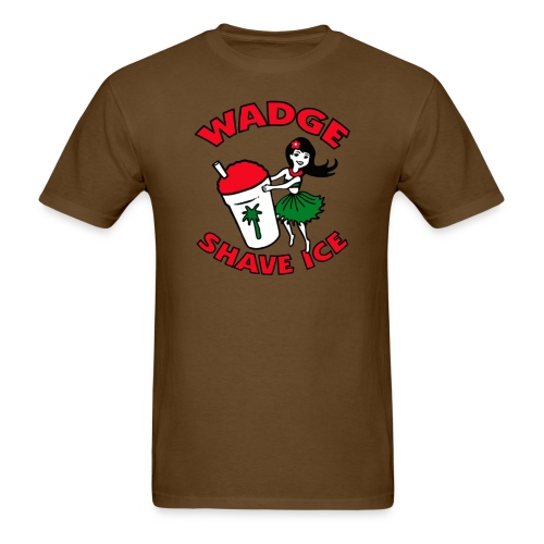 WADGE SHAVE ICE - Men's T-Shirt