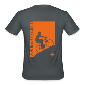 Cycling - Men's Moisture Wicking Performance T-Shirt