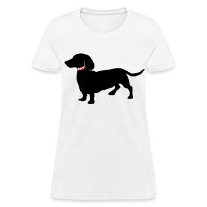 Dachshund ADD CUSTOM TEXT - Women's T-Shirt