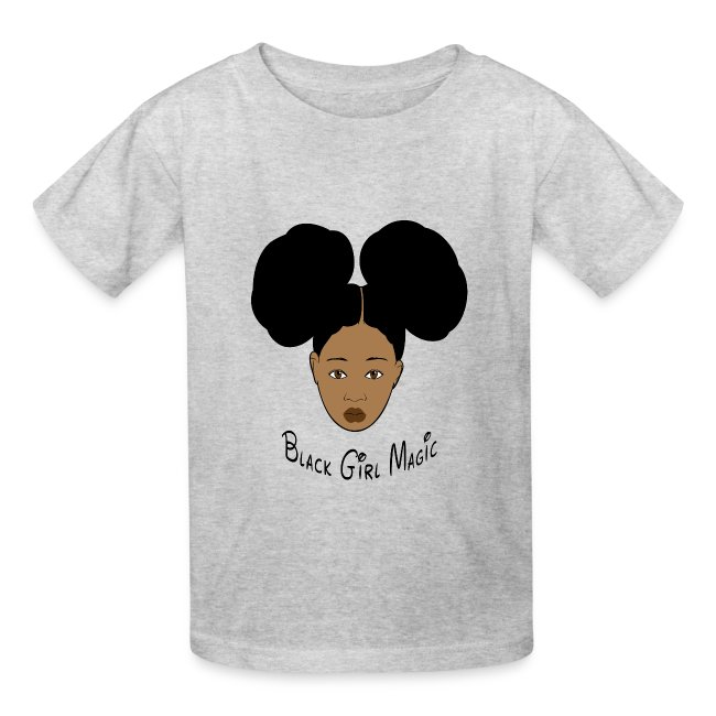 3bafb903 Ethos Wear Design and Apparel | Black Girl Magic Afro Puffs Kids ...