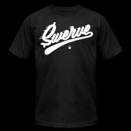 T-Shirts ~ Men's T-Shirt by American Apparel ~ Swerve - Black T-Shirt