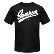 T-Shirts ~ Men's T-Shirt by American Apparel ~ Swerve - Black T-Shirt