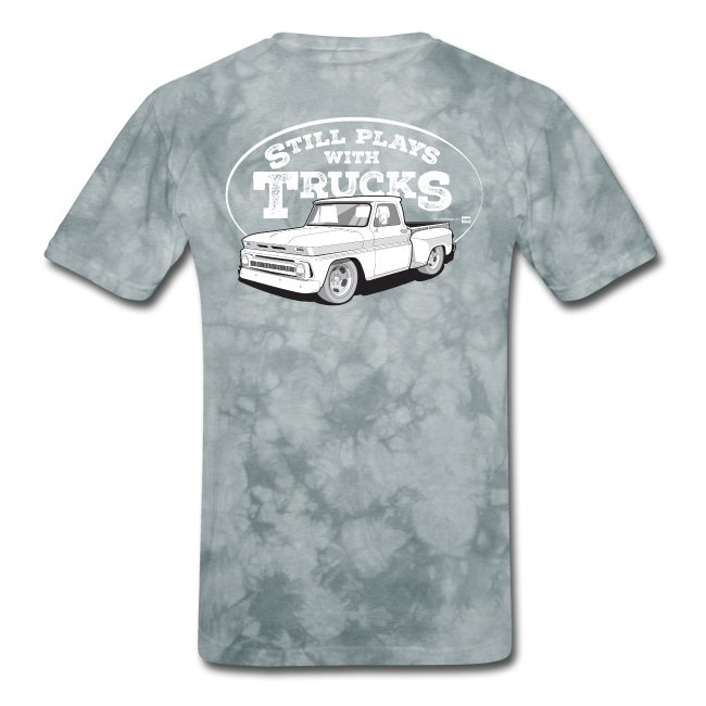 64-66 C10 Stepside Tee (White graphic on Back)