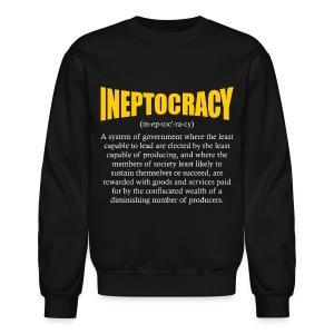 Ineptocracy Definition - Crewneck Sweatshirt