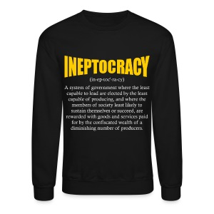 Ineptocracy Definition - Crewneck Sweatshirt