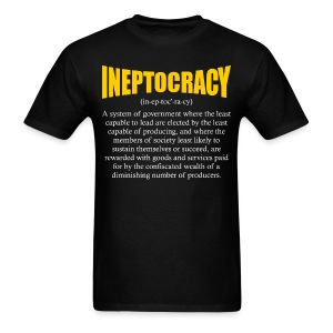 Ineptocracy Definition - Men's T-Shirt