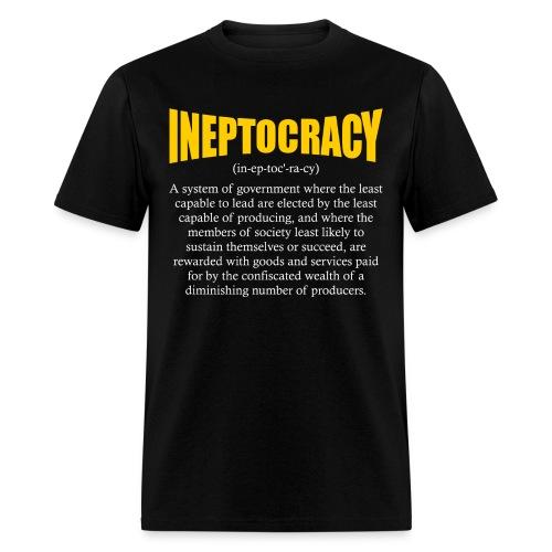 Ineptocracy Definition - Men's T-Shirt