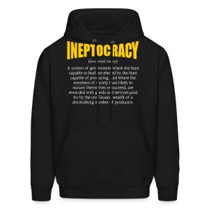 Ineptocracy Definition - Men's Hoodie