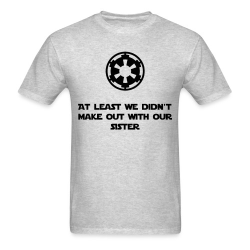 Star Wars incest joke - Men's T-Shirt