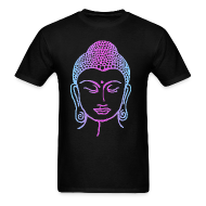 T-Shirts ~ Men's T-Shirt ~ Tye-Dyed Buddha