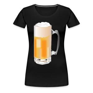 Beer Mug ADD CUSTOM TEXT - Women's Premium T-Shirt