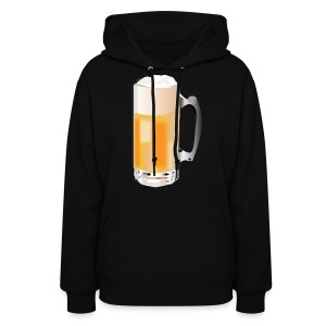 Beer Mug ADD CUSTOM TEXT - Women's Hoodie