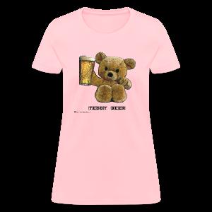 Teddy Beer Women's T-Shirt - Women's T-Shirt