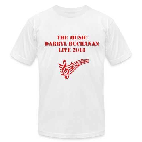 The Music Darryl Buchanan - Men's Fine Jersey T-Shirt