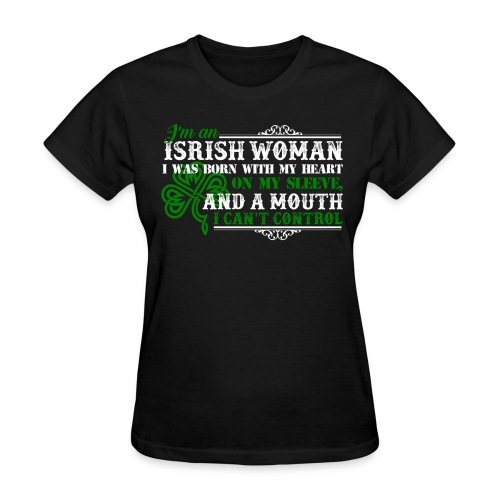 Irish Woman - Women's T-Shirt