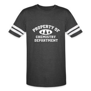Property Of Chemistry Department Tshirt - Vintage Sport T-Shirt