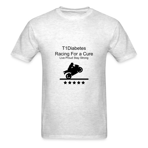 Men's T1Diabetes Racing  - Men's T-Shirt