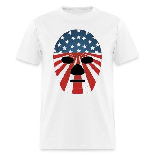 LuchaProUSA Mask - Men's T-Shirt