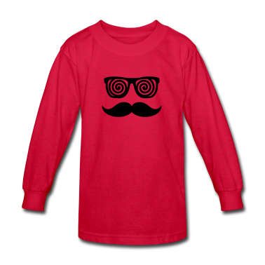 Anonymous confusing Moustache Kids' Shirts