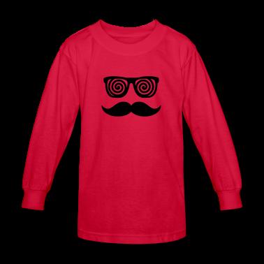Anonymous confusing Moustache Kids' Shirts