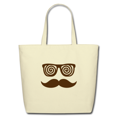 Anonymous confusing Moustache Bags