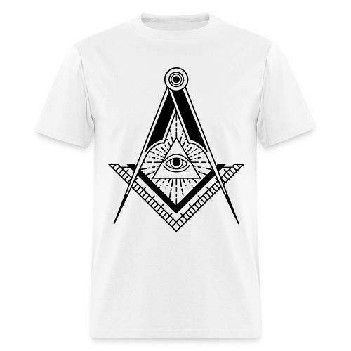 All seeing eye t-shirt - Men's T-Shirt