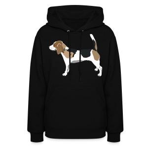 Beagle ADD CUSTOM TEXT - Women's Hoodie