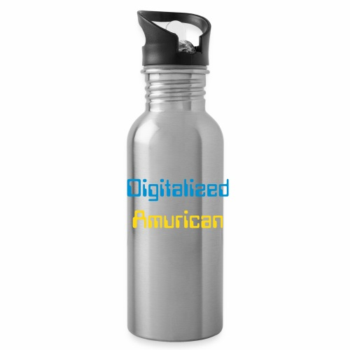 Digitalized Amurican Water Bottle  - Water Bottle
