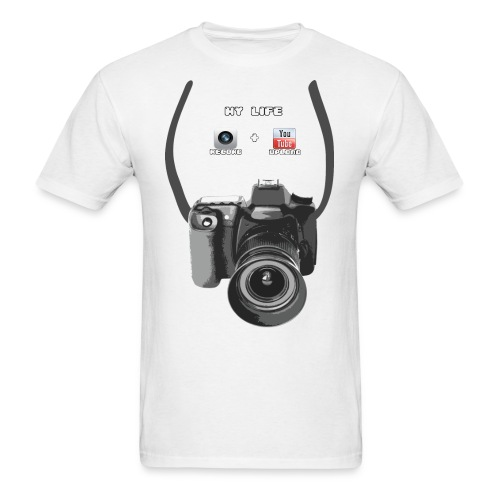 Show the world that you're a photographer - or pretent you're one. - Men's T-Shirt