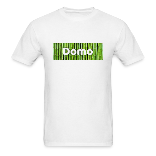 Domo box logo Mens shirt - Men's T-Shirt
