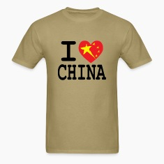 I Heart China T-Shirts