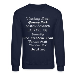 Boston Things - Crewneck Sweatshirt