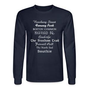 Boston Things - Men's Long Sleeve T-Shirt