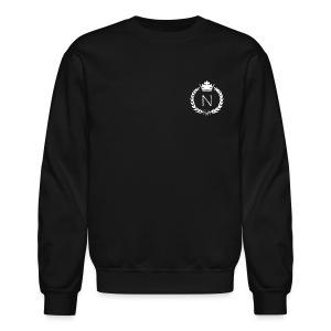 NFXN Crown logo w 1 John 5:7 on back - Crewneck Sweatshirt