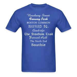 Boston Things - Men's T-Shirt
